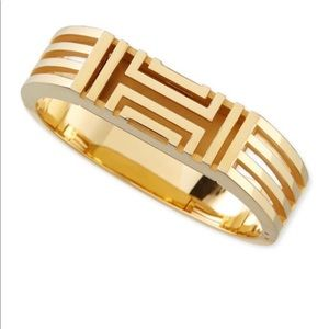 Tory Burch gold plated Fitbit-case bracelet